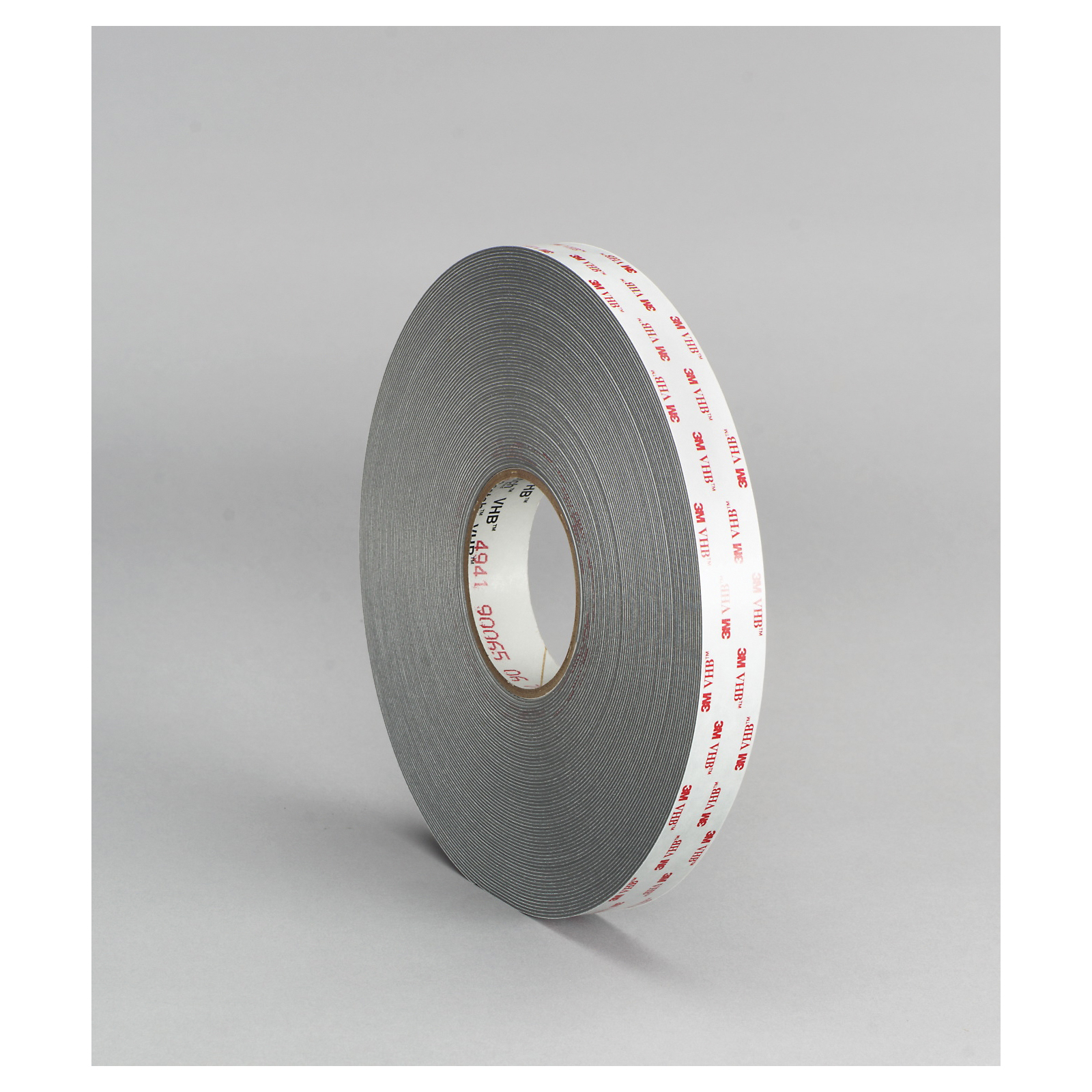 3M™ VHB™ 021200-18092 Pressure Sensitive Double Sided Bonding Tape, 36 yd L x 1 in W, 0.045 in THK, General Purpose Acrylic Adhesive, Acrylic Foam Backing, White