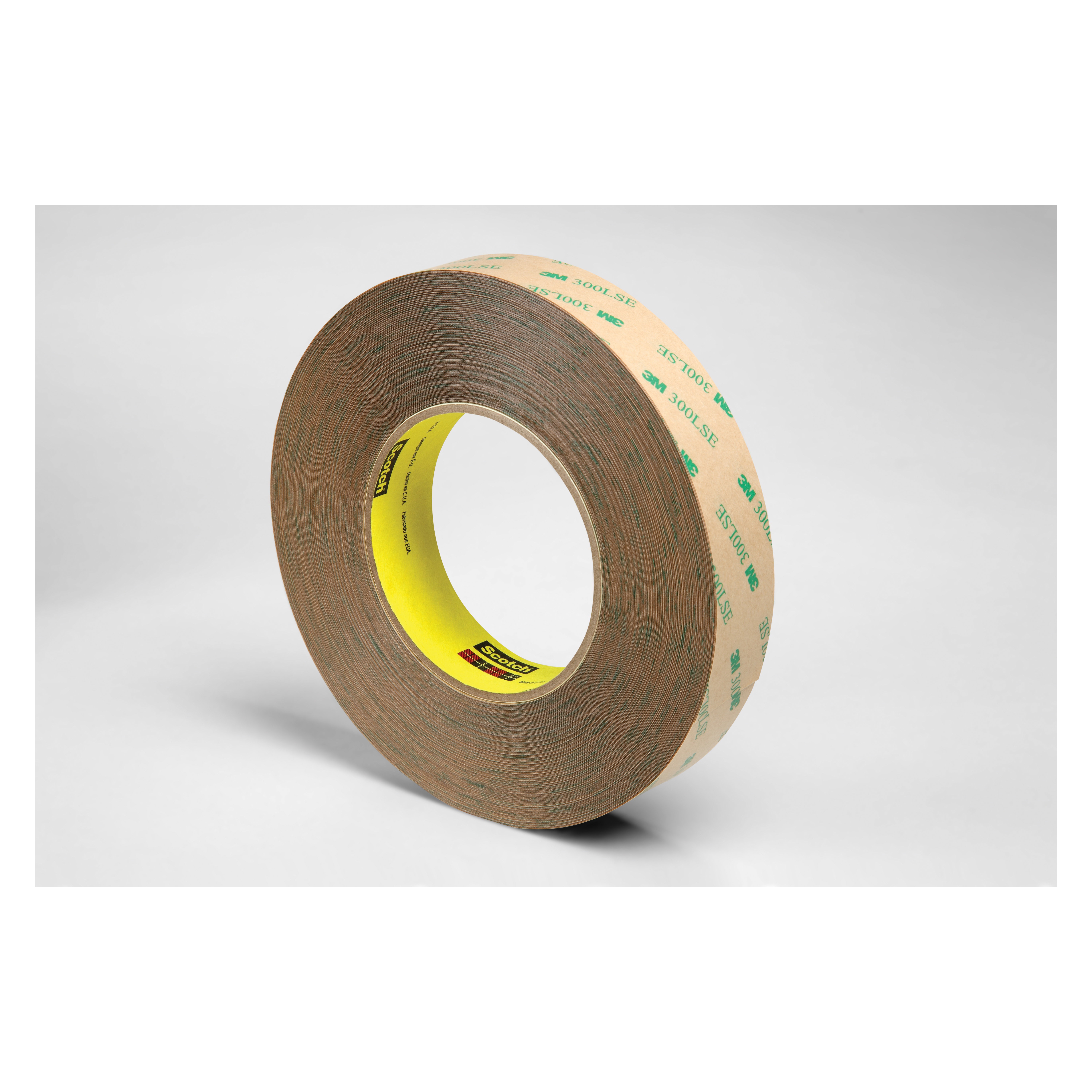 3M™ 021200-19335 High Performance Medium Tack Adhesive Transfer Tape, 60 yd L x 1/2 in W, 9.2 mil THK, 5 mil 200MP Acrylic Adhesive, Clear