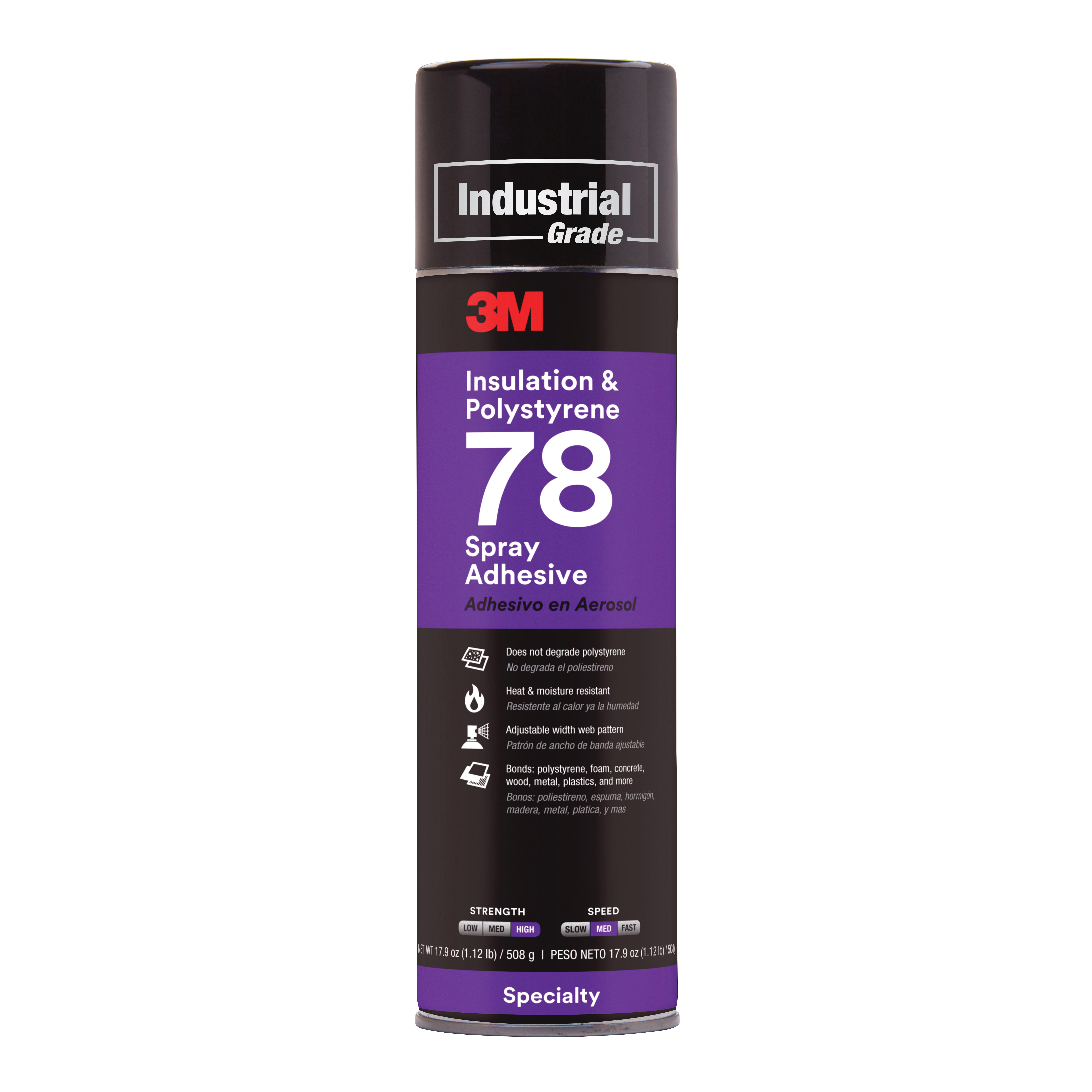 3M™ Spray Mount™ 021200-30060 Repositionable Quick-Fix Spray Adhesive, Aerosol Can, Clear