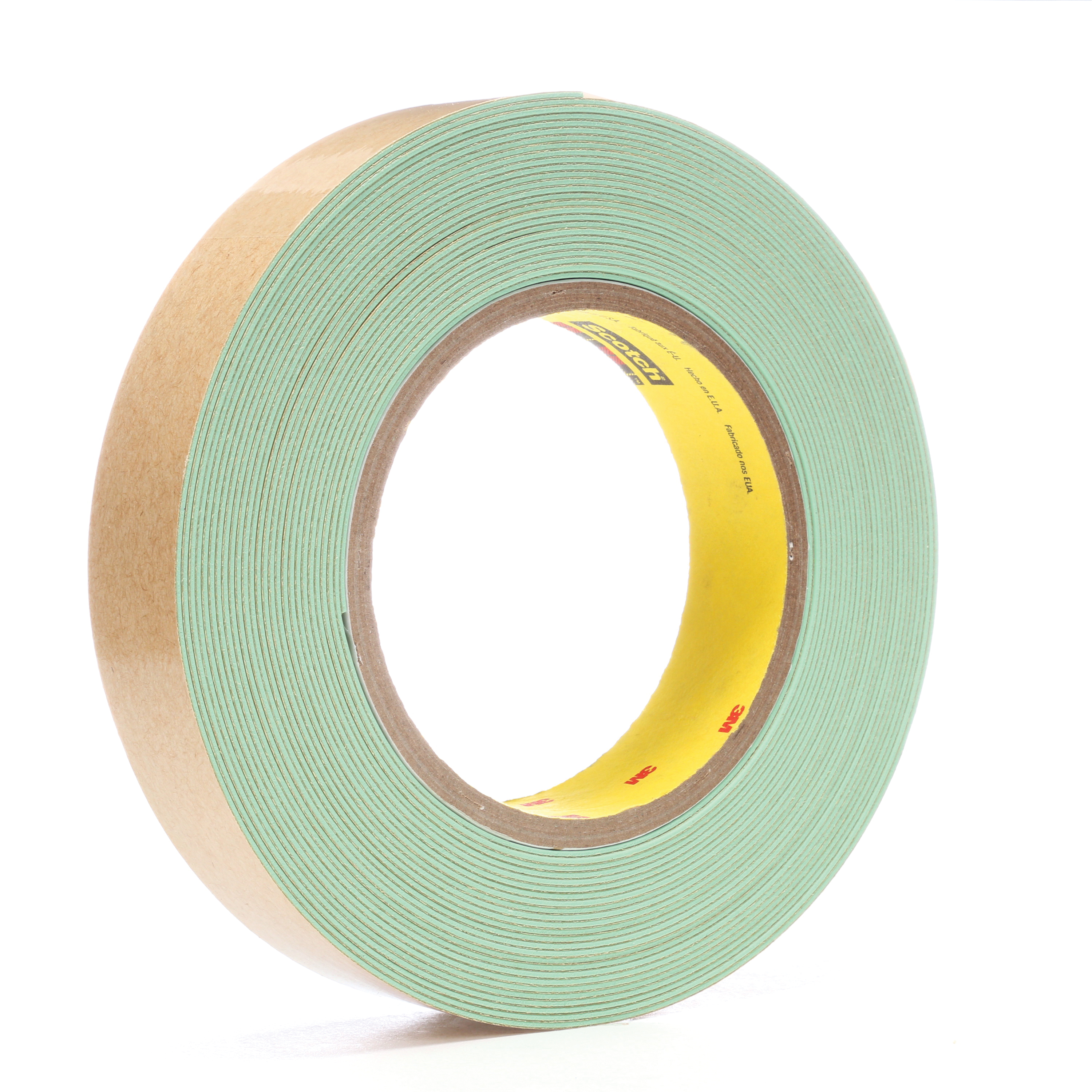3M™ 048011-58036 203 General Purpose Masking Tape, 55 m L x 24 mm W, 4.7 mil THK, Natural Rubber Adhesive, Crepe Paper Backing
