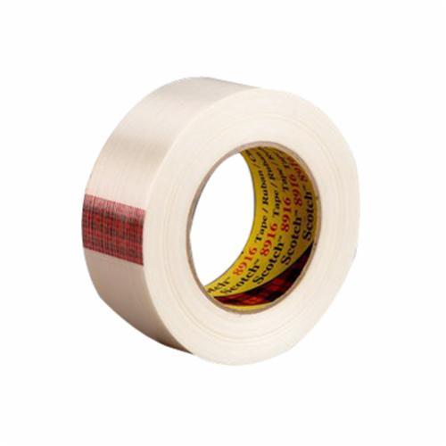 3M™ 051111-07782 High Performance Double Coated Tape, 55 yd L x 1 in W, 10.2 mil THK, Modified Acrylic Adhesive, PVC Backing, White