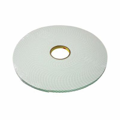 3M™ 021200-87288 Double Coated Tape, 60 yd L x 3/4 in W, 4 mil THK, 400HT Acrylic Adhesive, Polypropylene Backing, Clear