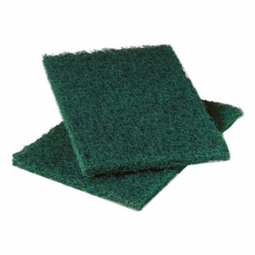 Scotch-Brite™ 048011-20688 Medium Duty Scrub Sponge, 6.1 in L x 3.6 in W x 0.7 in THK, Cellulose/Fiber/Mineral/Resin, Green/Yellow