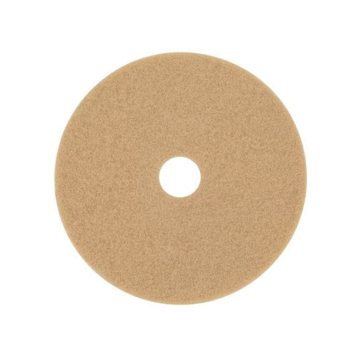 3M™ 048011-08380 Round Non-Woven Stripping Pad, 18 in, 175 to 600 rpm Speed, Nylon/Polyester Fiber, Black