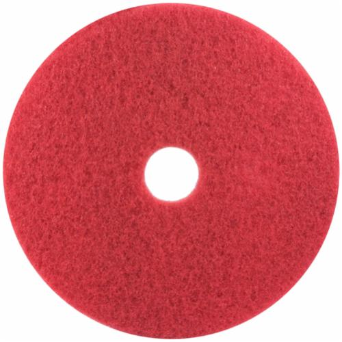 3M™ 048011-08382 Round Non-Woven Stripping Pad, 20 in, 175 to 600 rpm Speed, Nylon/Polyester Fiber, Black