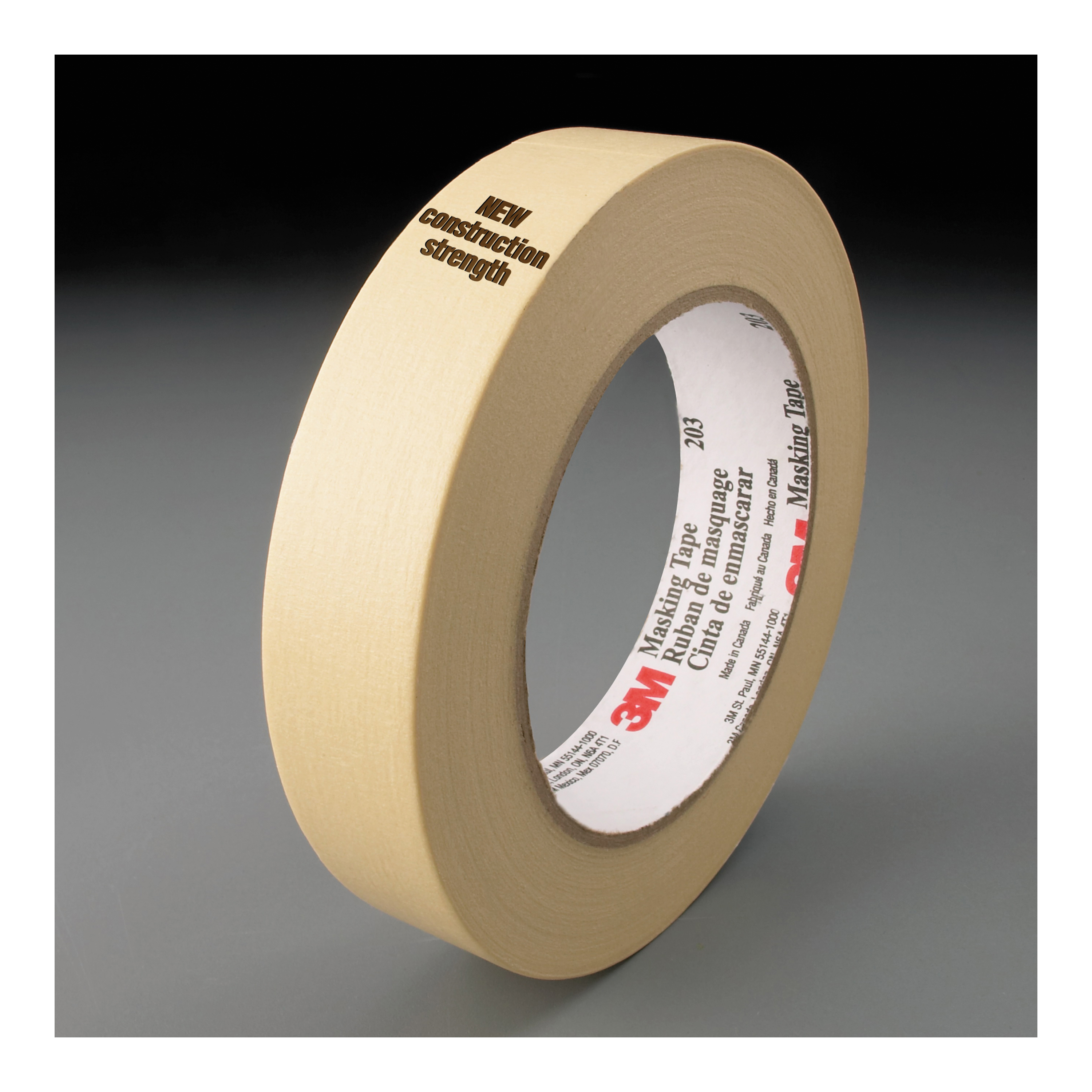 ScotchBlue™ 021200-98031 Painter's Masking Tape, 60 yd L x 2.83 in W, 5.4 mil THK, Acrylic Adhesive, Crepe Paper Backing