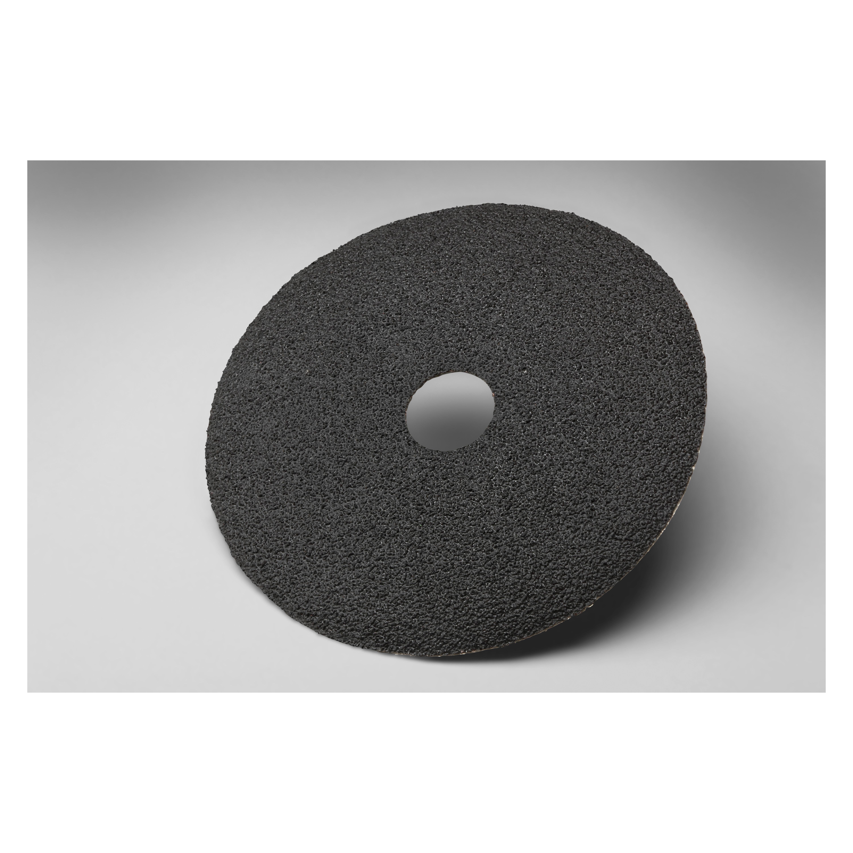 3M™ 051111-50419 501C Close Coated Closed Coated Abrasive Disc, 4-1/2 in Dia Disc, 7/8 in Center Hole, 120 Grit, Fine Grade, Zirconia Alumina Abrasive, Arbor Attachment