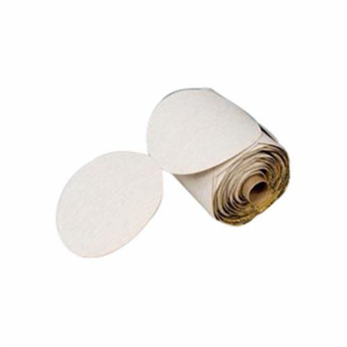 Trizact™ 051111-50404 466LA PSA Coated Abrasive PSA Disc Roll, 2 in Dia Disc, A5 Grit, Ultra Fine Grade, Silicon Carbide Abrasive, Film Backing