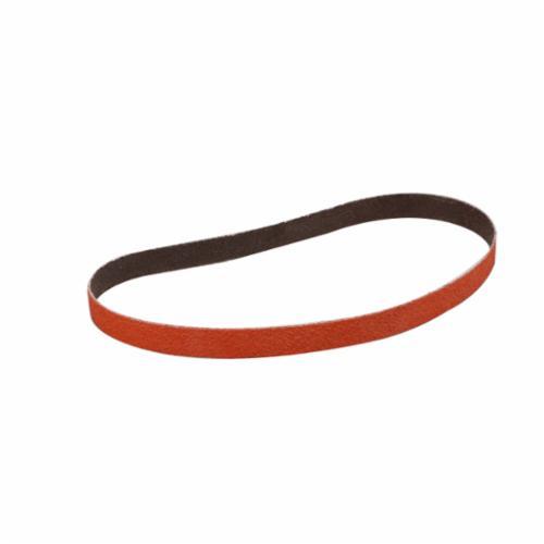 Cubitron™ 051111-68511 977F Narrow Abrasive Belt, 4 in W x 132 in L, 36 Grit, Ceramic Abrasive, Polyester Backing