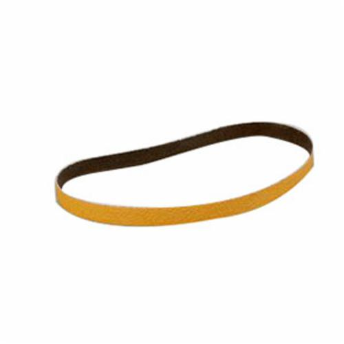 Cubitron™ II 051115-19655 Narrow Coated Abrasive Belt, 1 in W x 90 in L, 36 Grit, Ceramic Abrasive, Polyester Backing