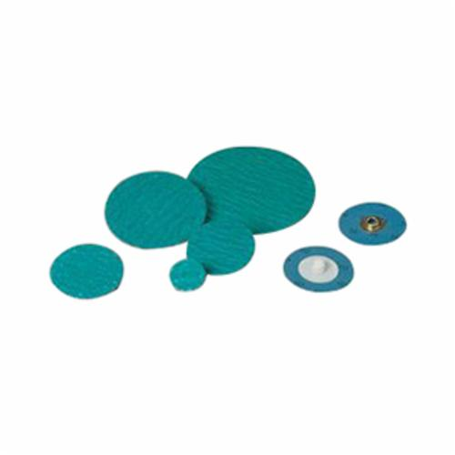 Standard Abrasives™ SocAtt® 051115-32409 522403 Quick-Change Coated Abrasive Disc, 2 in Dia Disc, 40 Grit, Coarse Grade, Aluminum Oxide Abrasive, Type TS Attachment