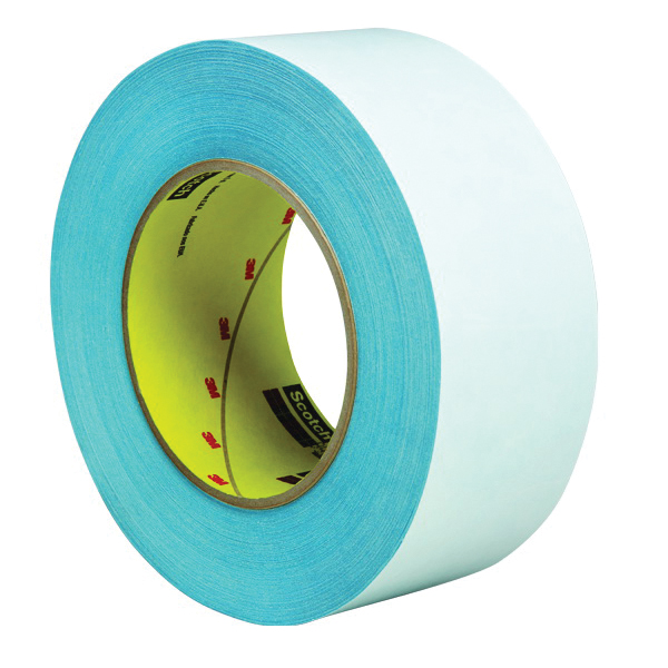 3M™ 051115-31649 410M Double Coated Paper Tape, 36 yd L x 1 in W, 6 mil THK, 850 Natural Rubber Adhesive, Paper Backing, Natural