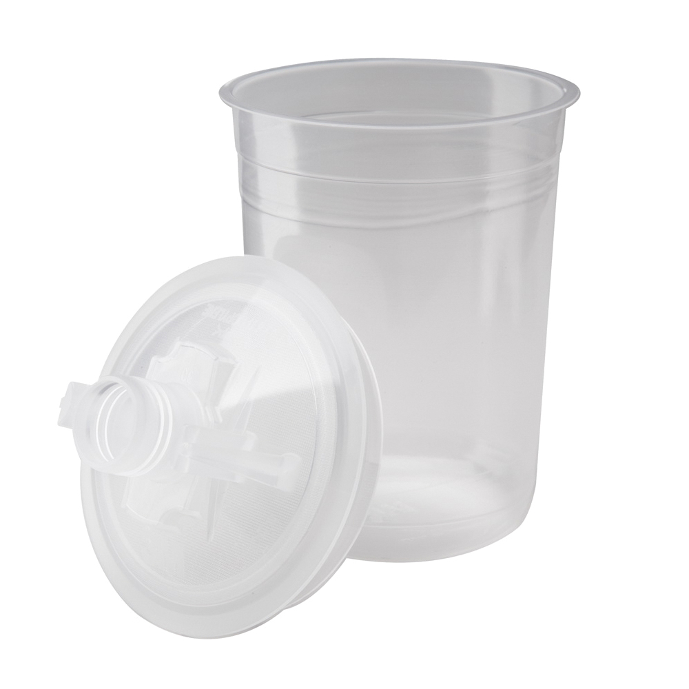 3M™ PPS™ 051131-16112 Midi Promo Lid and Liner Kit, For Use With 3M™ PPS™ Paint Preparation System, 400 mL Container Volume