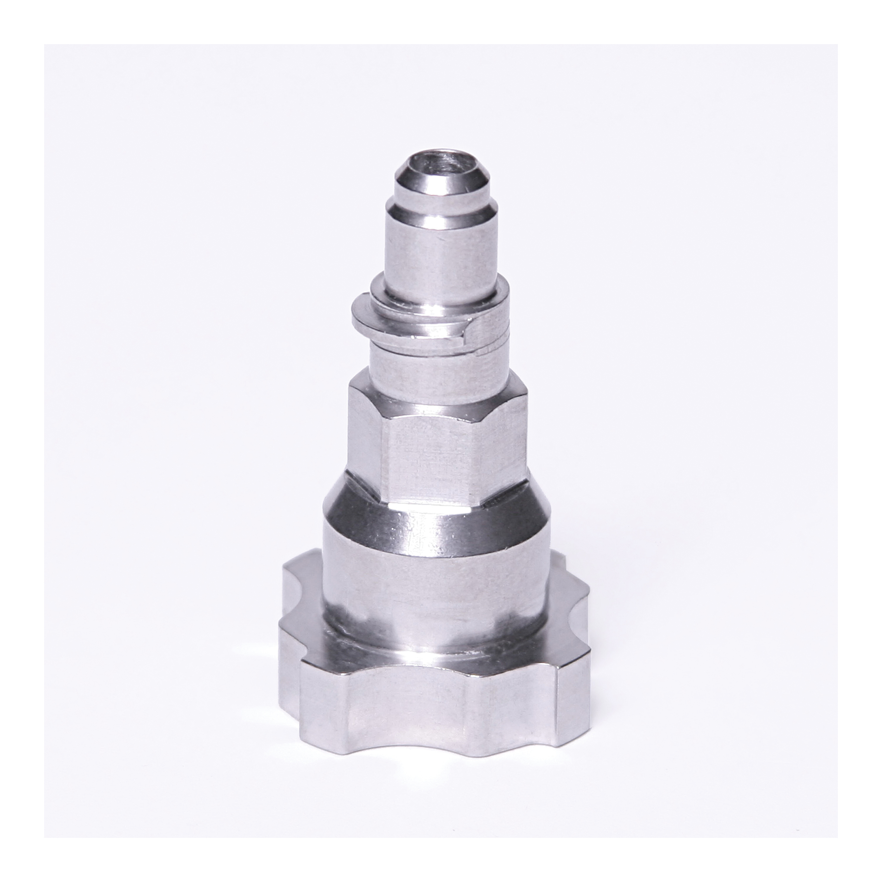 3M™ PPS™ 051131-16135 Type 40 Spray Adapter, For Use With 3M™ Paint Preparation System, Stainless Steel