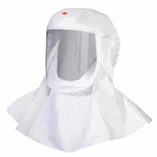 Versaflo™ 051131-17075 S-Series Small/Medium Headcover With Integrated Head, For Use With 3M™ S-Series, TR-Series, V Series Powered Air Purifying and Supplied Air Respirator Systems, White, Specifications Met: NIOSH Approved