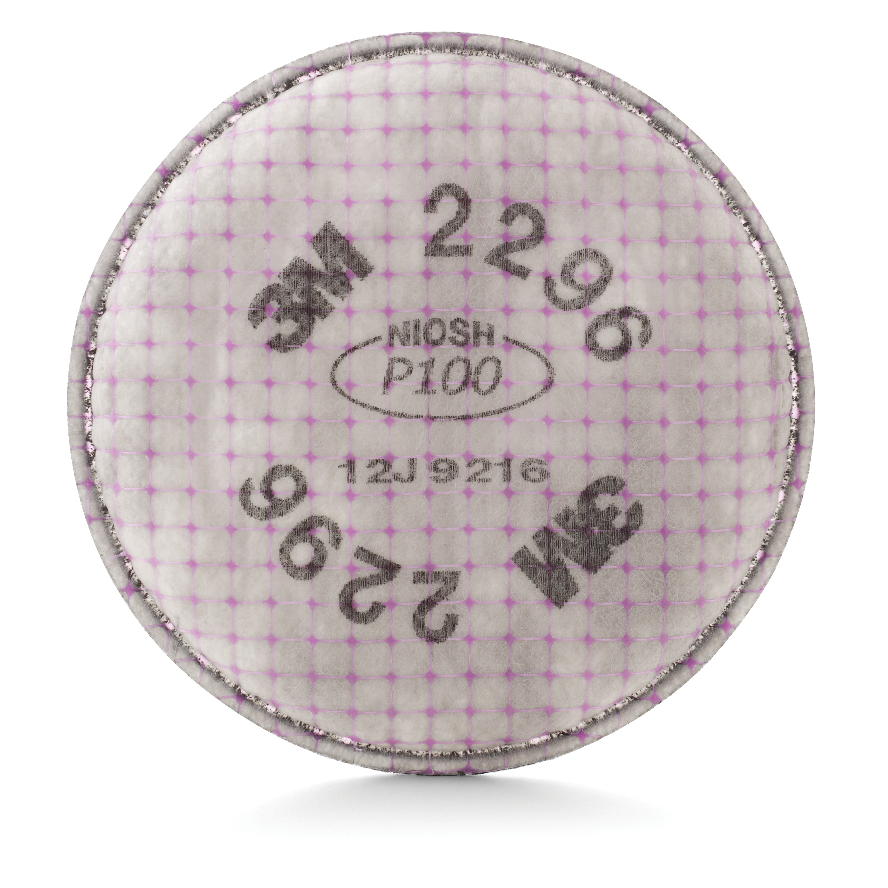 3M™ 2291 Advanced Particulate Filter, P100, Bayonet Connection, Magenta -- DUE TO HIGH DEMAND, we may be unable to fulfill any orders for this product regardless of stock status indicated.