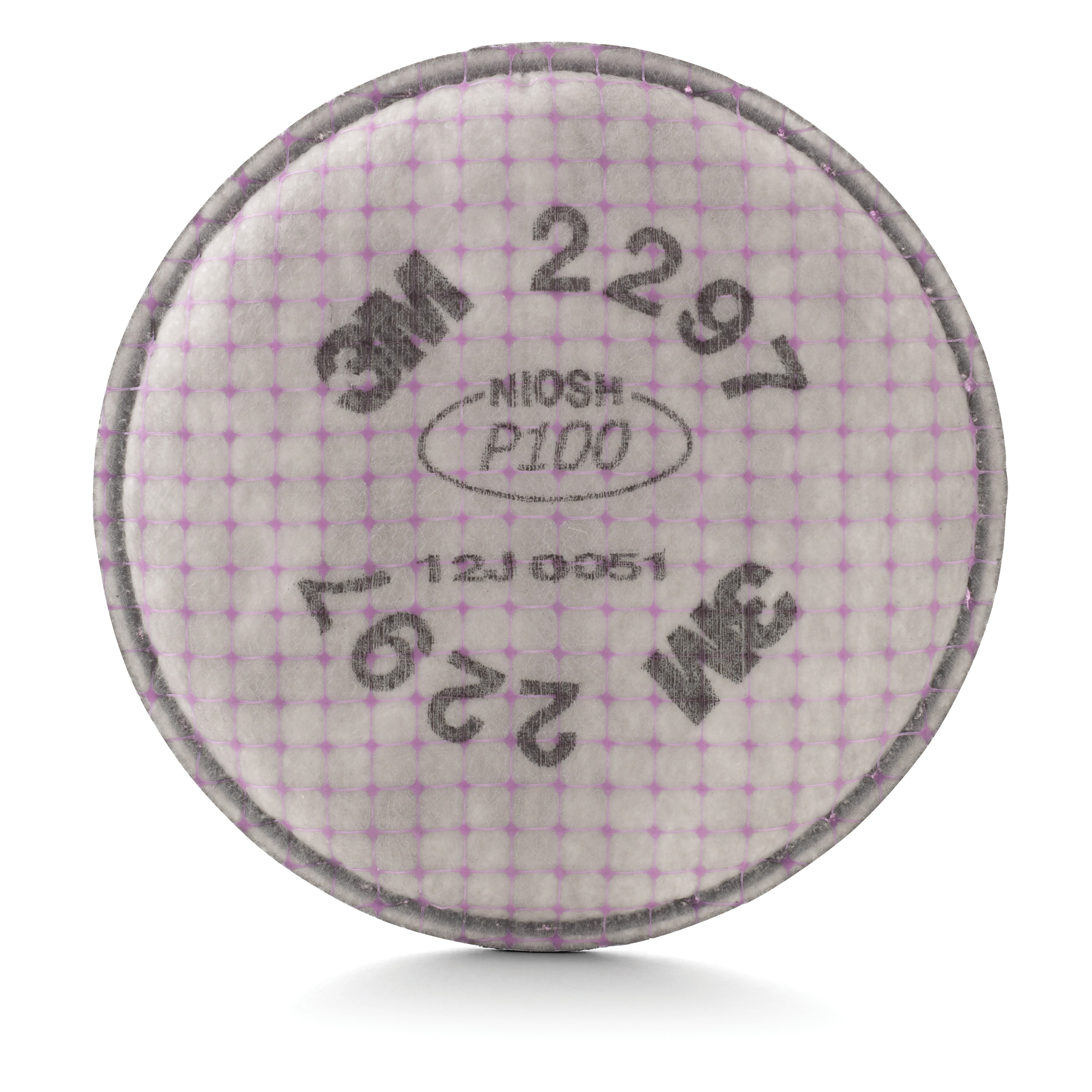 3M™ 2296 Advanced Particulate Filter, P100, Bayonet Connection, Magenta -- DUE TO HIGH DEMAND, we may be unable to fulfill any orders for this product regardless of stock status indicated.