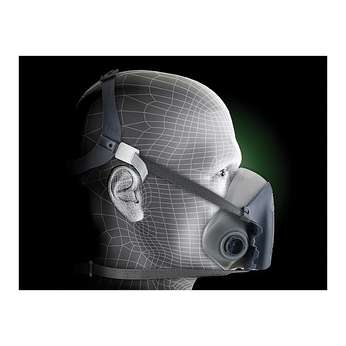 3M™ Half Facepiece Reusable Respirator 6300/07026(AAD) Large 24 EA/Case -- DUE TO HIGH DEMAND, we may be unable to fulfill any orders for this product regardless of stock status indicated.