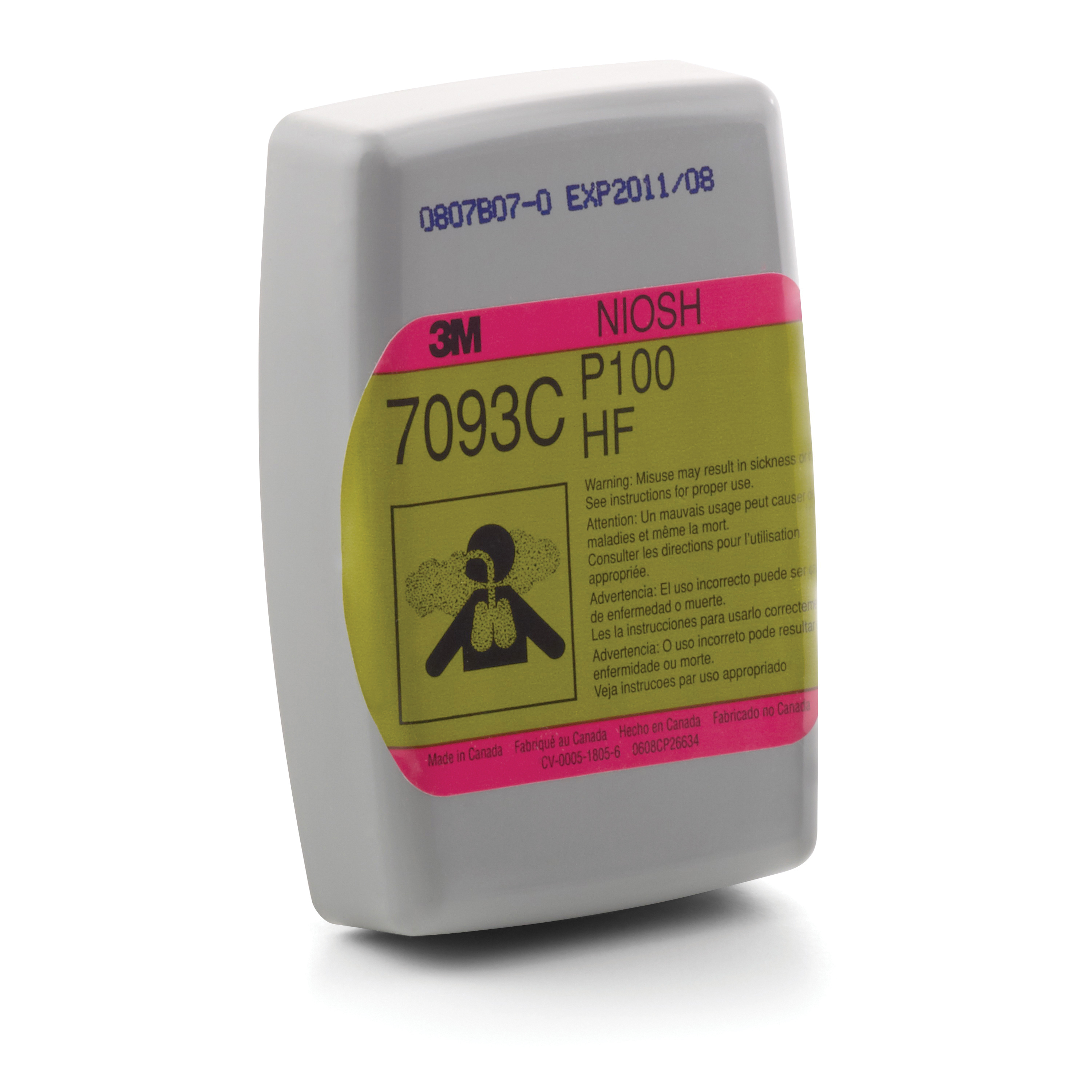 3M™ Advanced Particulate Filter 2297, P100, with Nuisance Level OrganicVapor Relief, 100 EA/Case -- DUE TO HIGH DEMAND, we may be unable to fulfill any orders for this product regardless of stock status indicated.