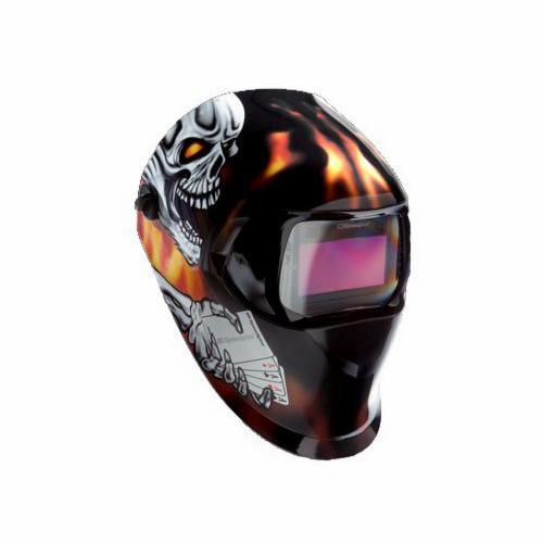 3M™ 051131-17230 L Series Welding Helmet With Welding Shield and Wide-View Faceshield, Green, Specifications Met: ANSI Z87.1, Z89.1-2003