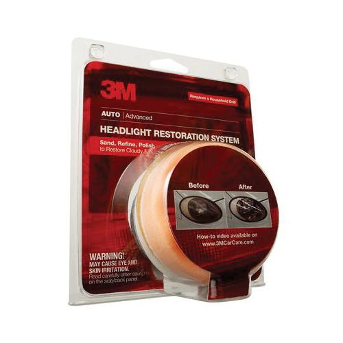 3M™ 051131-07499 Medium Density Stripe Off Wheel, 4 in Dia x 5/8 in THK, 3/8-16 INT
