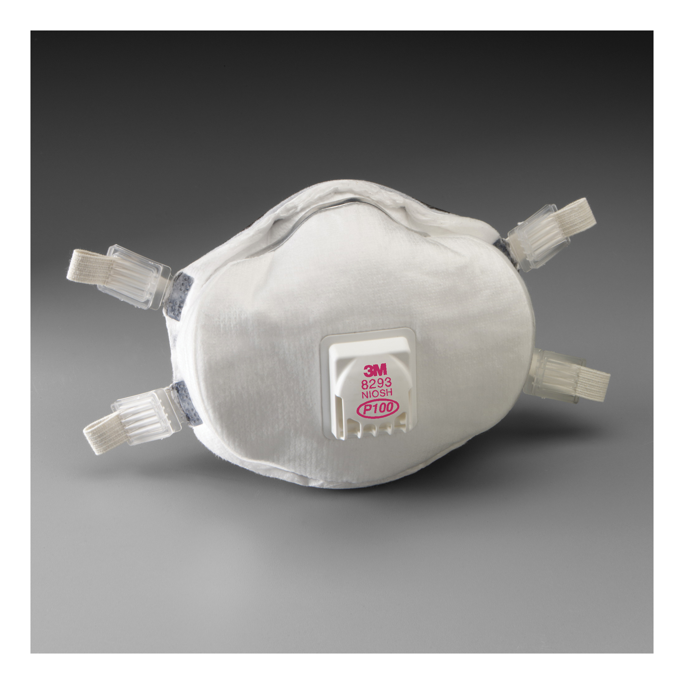 3M™ 051138-54305 8110S Cup Style Disposable Particulate Respirator, S, Resists: Certain Non-Oil Based Particles, Dust and other Particles