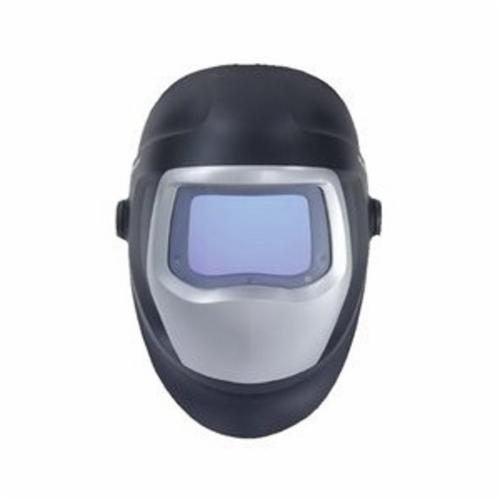 Speedglas™ 051135-89356 9100 Series™ Welding Helmet, 5, 8 to 13 Lens Shade, Black/Silver, 2.8 x 4.2 in Viewing Area, Nylon, Specifications Met: ANSI A87.1-2003, CSA Z94.3-2009