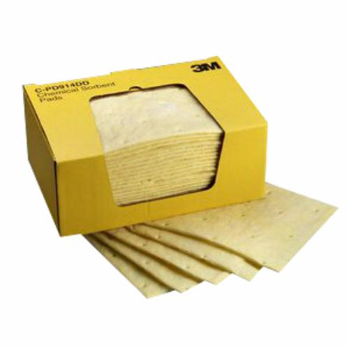 3M™ 051131-07172 High Capacity Folded Maintenance Sorbent, 50 ft L x 5 in W, 10.5 gal Absorption, Polypropylene/Polyester