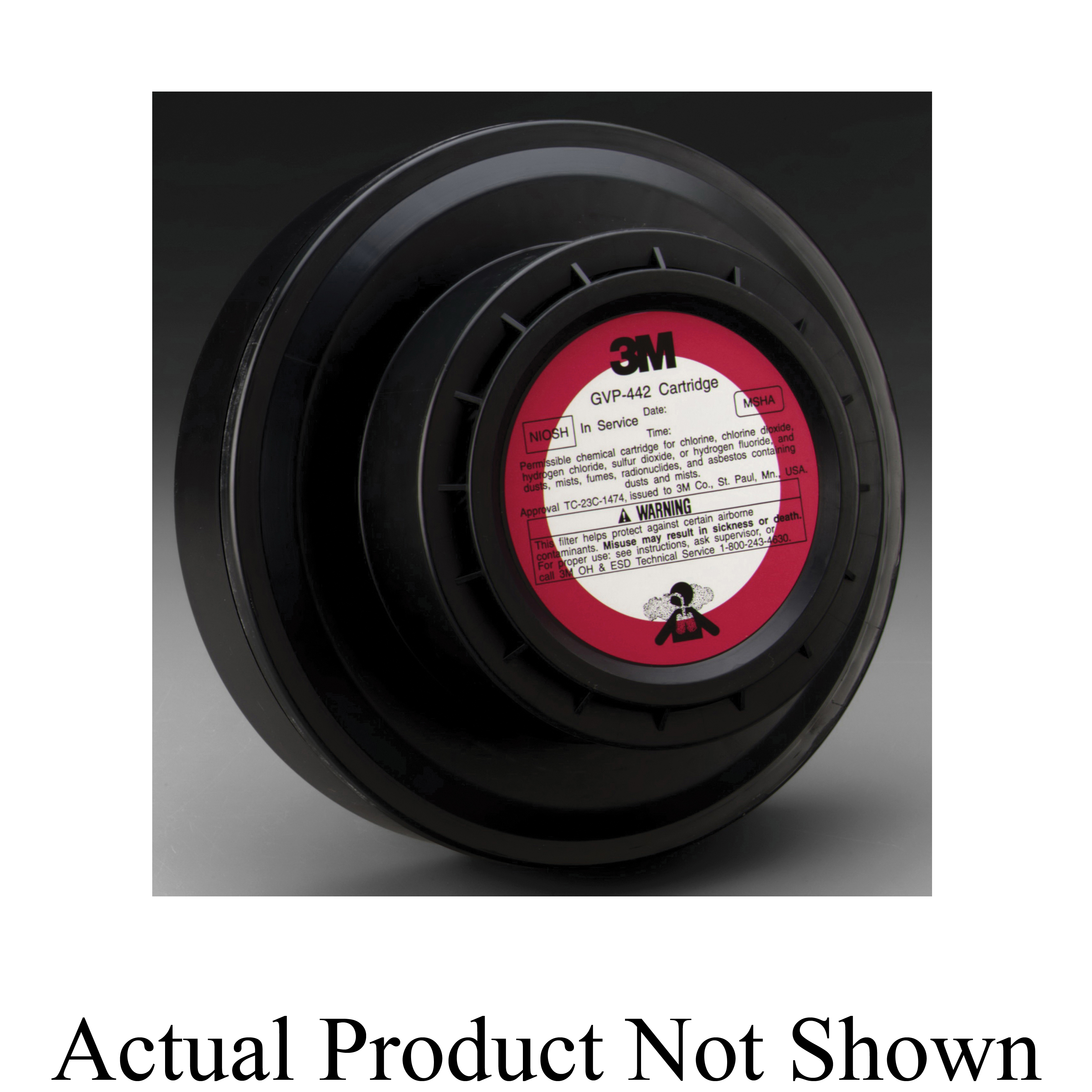 3M™ 051138-29219 Filter, For Use With Belt Mounted PAPR Systems, Gray, Resists: Particulates -- DUE TO HIGH DEMAND, we may be unable to fulfill any orders for this product regardless of stock status indicated.
