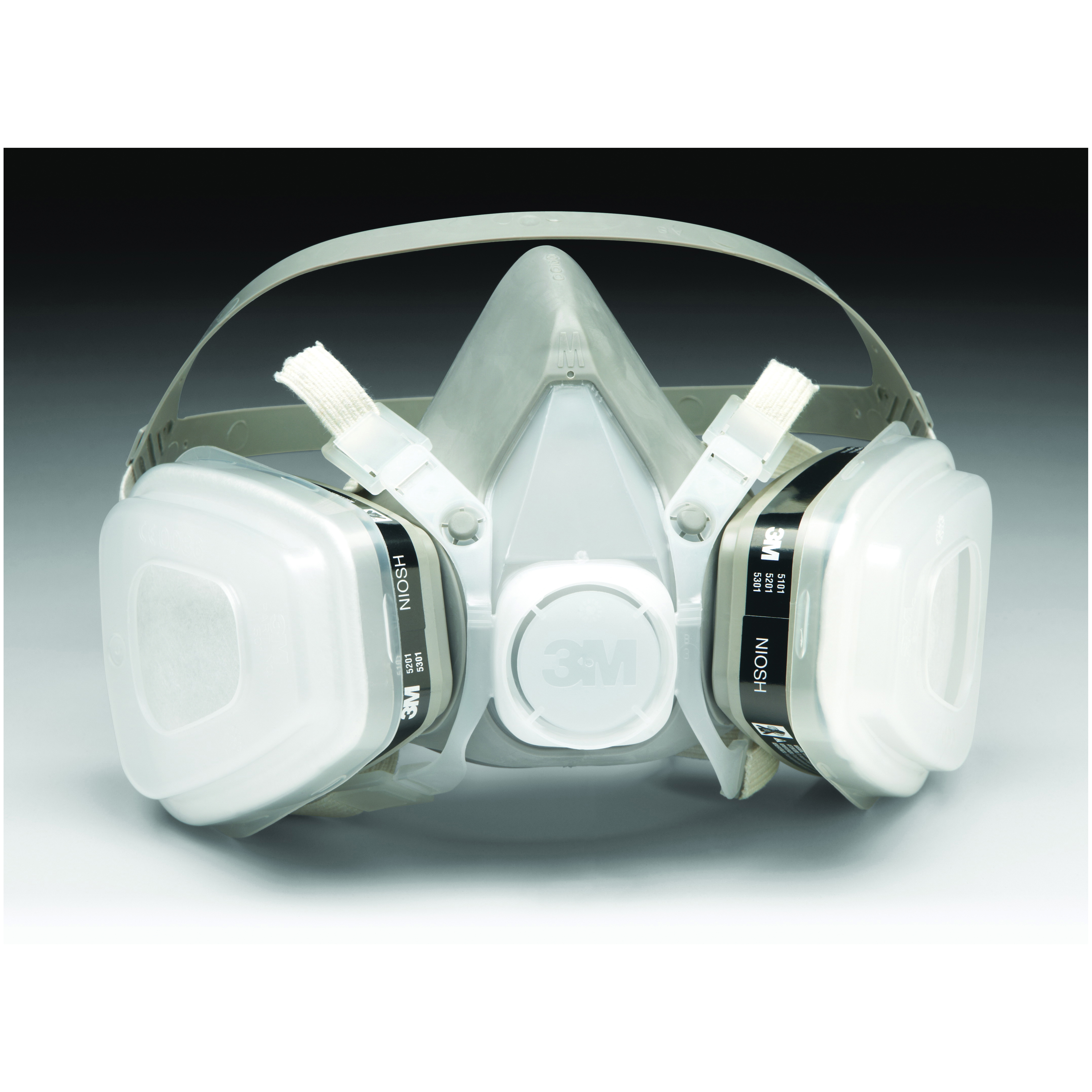 3M™ Particulate Respirator 8577, P95, with Nuisance Level Organic VaporRelief 80 EA/Case