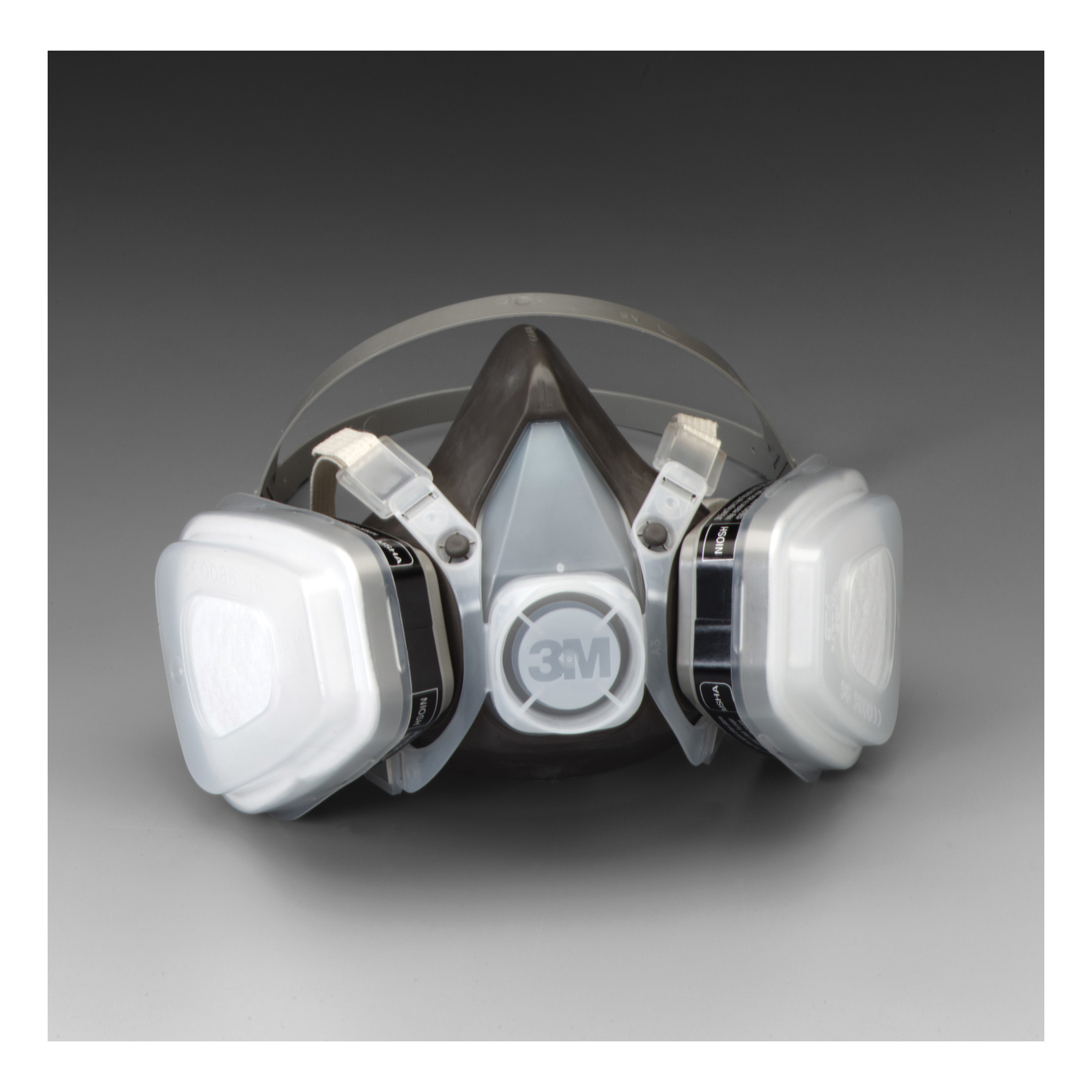 3M™ 051138-66069 5000 Half Facepiece Disposable Respirator Assembly, M, Resists: Organic Vapors