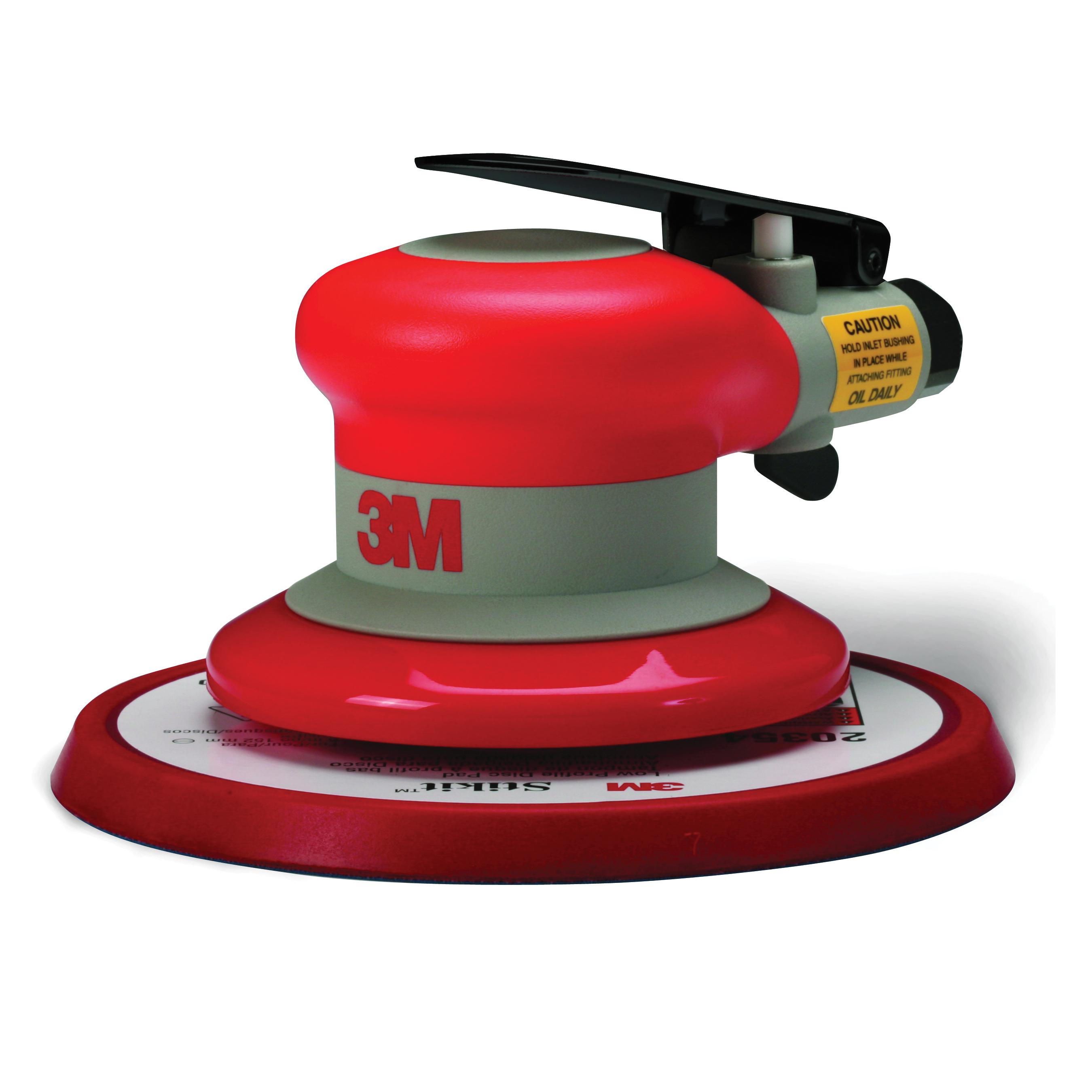 3M™ 051141-20319 Self-Generated Vacuum Pneumatic Random Orbital Sander, 5 in Pad, 17 scfm Air Flow