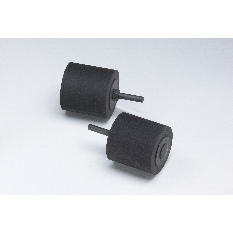 Merit® Buffing 08834166398 Quick-Change Non-Woven Abrasive Disc, 3 in Dia, Type TS (Type II) Attachment, Aluminum Oxide, Medium Grade