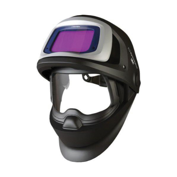 Speedglas™ 051131-37237 100 Fixed Front Welding Helmet With Auto-Darkening Filter, 3, 8 to 12 Lens Shade, Graphics: Aces High, 6.05 sq-in Viewing Area, Specifications Met: ANSI Z87.1-2003, Z87.1-2010, CSA Z94.3