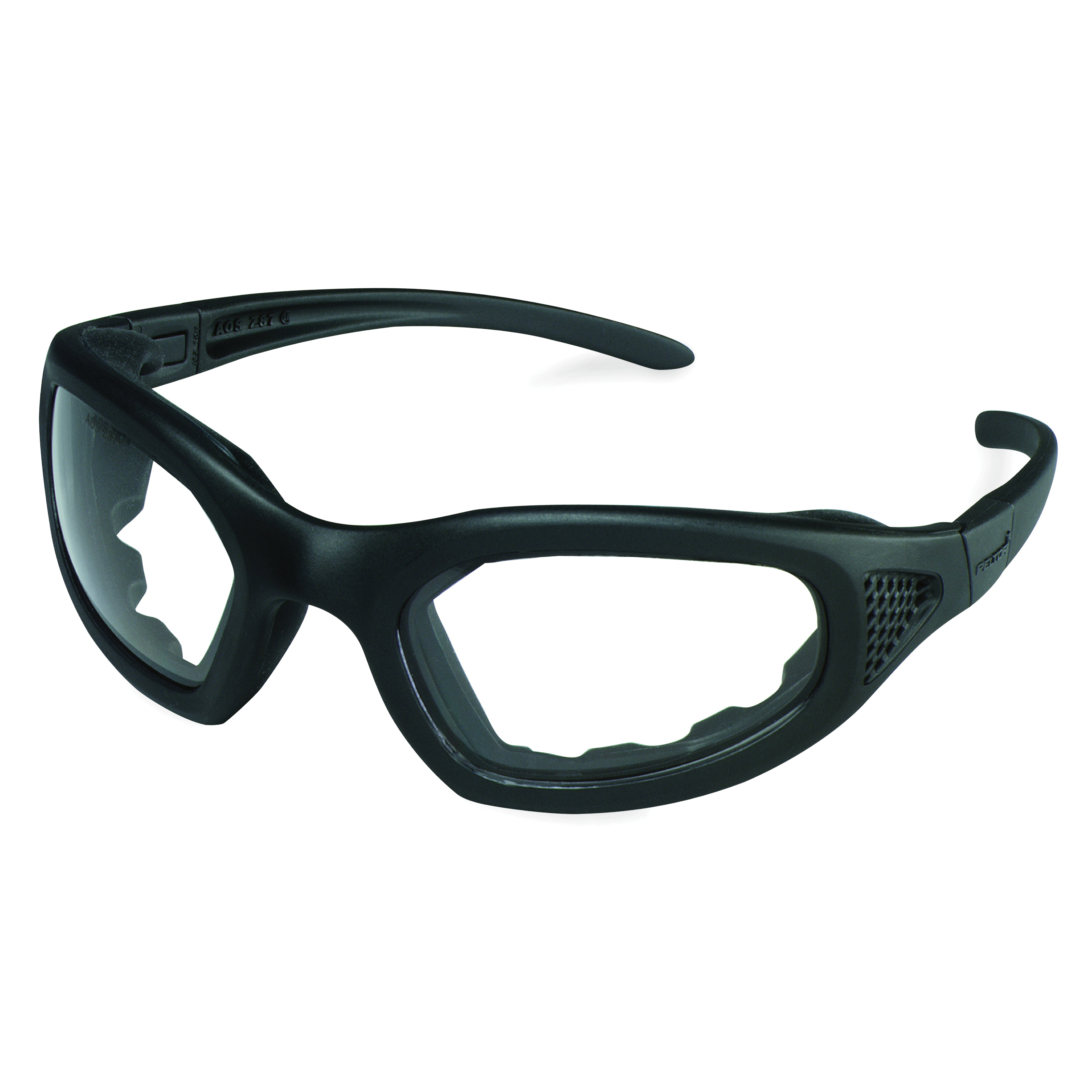 3M™ Maxim™ 2x2 078371-62167 40687-00000-10 Indirect Venting Premium Safety Goggles With Black Frame and Elastic Strap, Anti-Fog Gray Polycarbonate Lens, 99.9% % UV Protection, Elastic Strap, ANSI Z87.1-2015