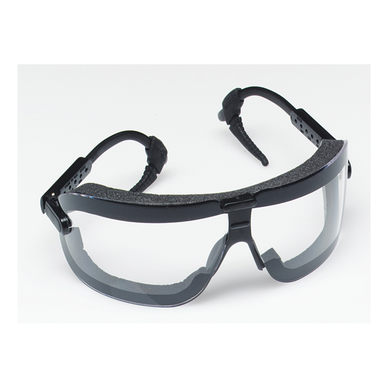 3M™ Fectoggles™ 078371-62321 Lightweight Safety Goggles, Anti-Fog/Anti-Scratch Clear Polycarbonate Lens, 99.9% UV Protection, Elastic Strap, ANSI Z87.1-2015, CSA Z94.3