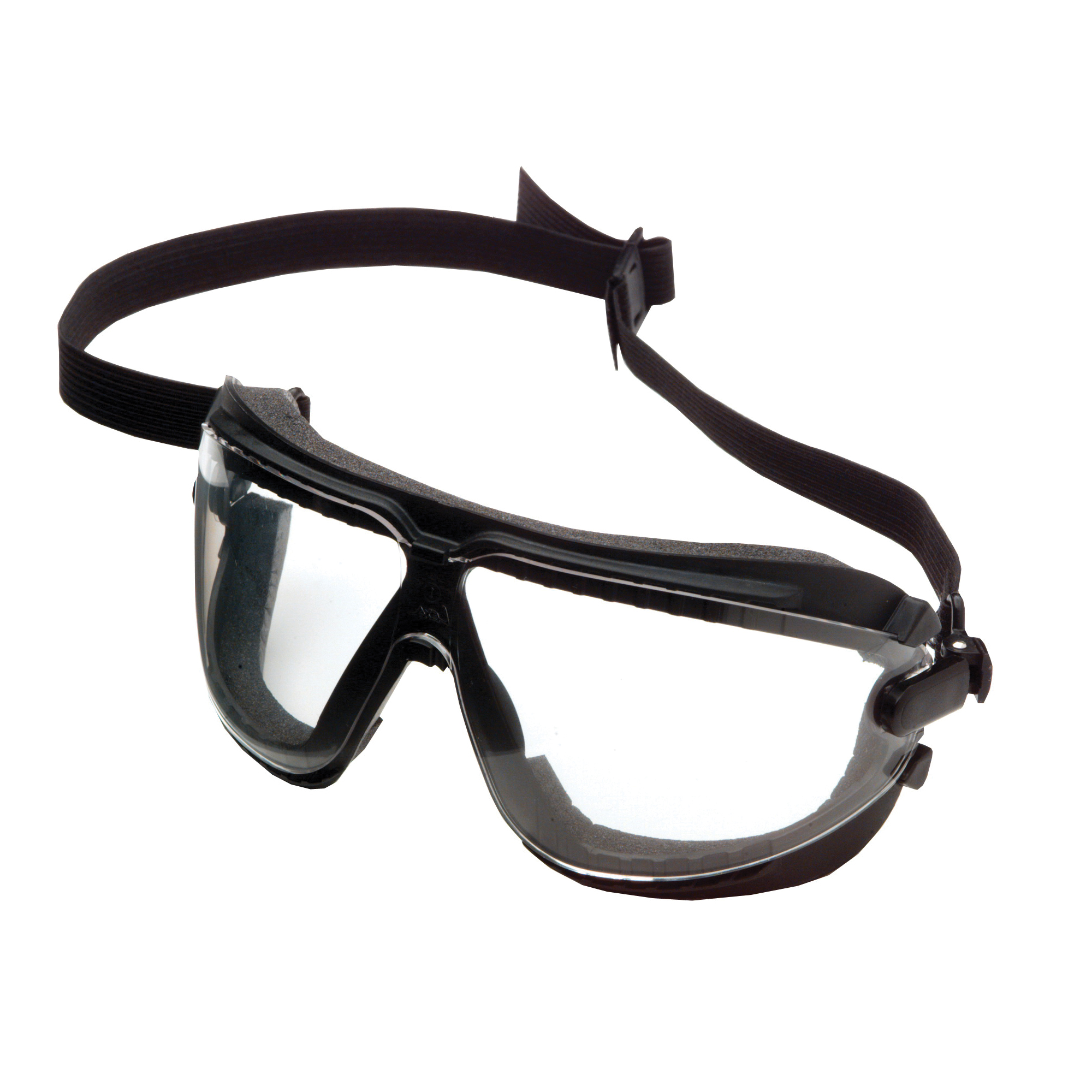 HexArmor® 12-11001-04 VS350 Series Safety Goggle, Low-Profile, TruShield¿¿S Dual Action Anti-Fog/Anti-Scratch Lens Coating, Clear Lens, Yellow & Black Frame, Polycarbonate Lens