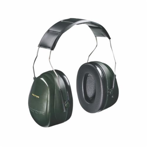 Peltor™ 093045-08065 Optime™ 95 Ultralight Hard Hat Earmuffs, 21 dB Noise Reduction, Black/Beige, CSA Class B, OSHA 29 CFR 1910.132