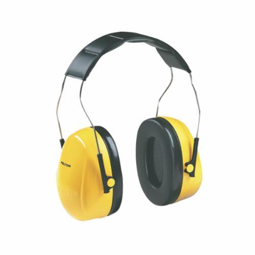 Peltor™ 093045-08071 Optime™ 101 Earmuffs, 27 dB Noise Reduction, Black/Green, Over The Head Band Position, ANSI S3.19-1974