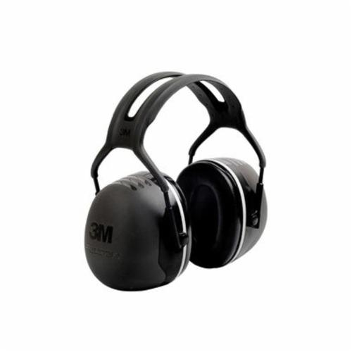 Peltor™ 093045-93726 Earmuffs, 27 dB Noise Reduction, Black/Chartreuse, Over The Head Band Position, CSA Class AL