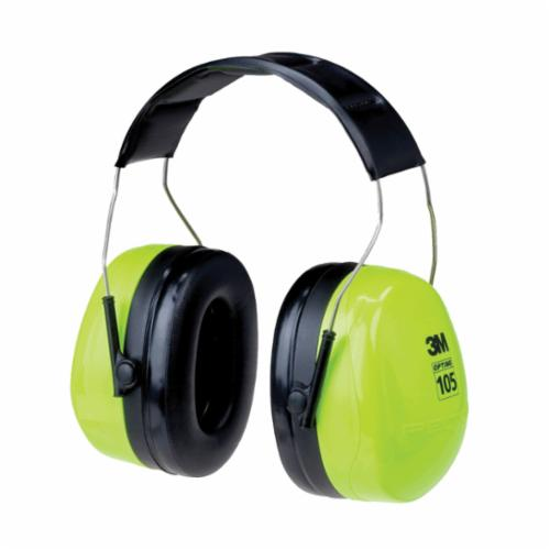Peltor™ 093045-93727 Dielectric Earmuffs, 31 dB Noise Reduction, Black, Over The Head Band Position, CSA Class AL