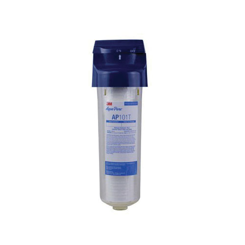 3M™ Aqua-Pure™ 016145-01011 Standard Whole House Water Filter, 8 gpm, 4.56 in Dia x 14-7/8 in H, 40 to 100 deg F, Import