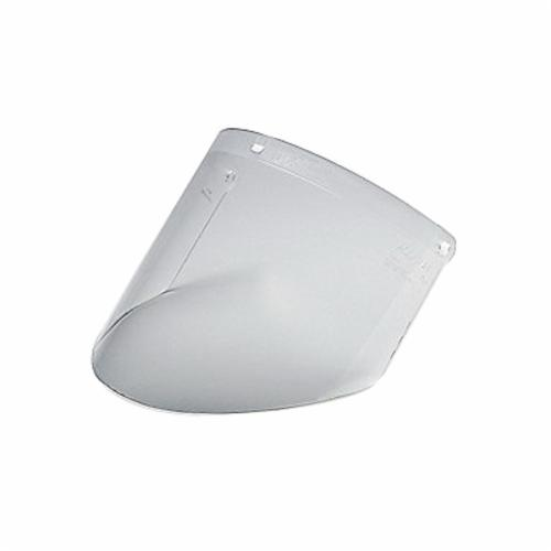 3M™ AoSafety® 078371-82543 Faceshield Visor, Clear, Polycarbonate, 7 in H x 14-1/2 in W x 0.04 in THK Visor, For Use With 82590 Headgears and 82521 Chin Protectors, Specifications Met: ANSI Z87.1-2003