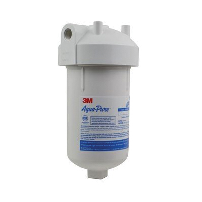 3M™ Aqua-Pure™ 016145-00200 Large Diameter Whole House Water Filter Housing, 1.75 gpm Flow Rate, 4.8 in Dia x 9-13/16 in H, Activated Carbon Filter, 40 to 100 deg F, Import
