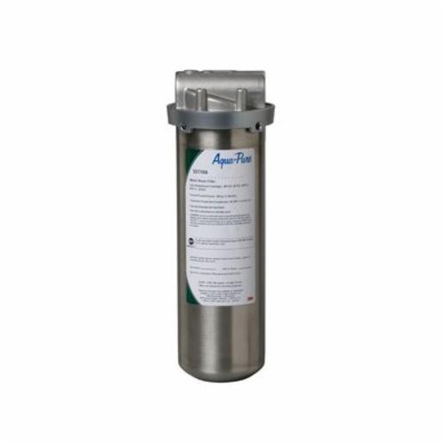 3M™ Aqua-Pure™ 016145-60124 Drop-In Cartridge Whole House Filter Housing, 4-5/32 in Dia x 12 in L x x 12 in H