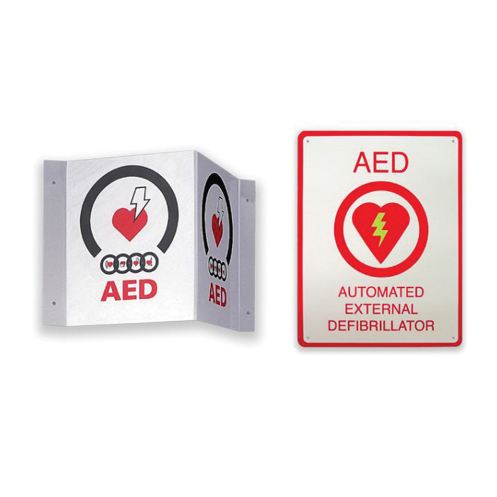 AED® 8000-004010-01 Defibrillator, Automatic Operation, Adult (120J/150J/200J)/Pediatric (50J/70J/85J), 10 s Charging, 48 in L Cable