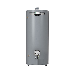 AO Smith® ProLine® 100279890 FCG-75 High Recovery Gas Water Heater, 75100 Btu/hr Heating, 74 gal Tank, Natural Gas Fuel, Atmospheric Vent, 81 gph at 90 deg F Rise Recovery, Short