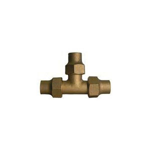 McDonald® 5120-145, 74760 Tee, 3/4 in, Flare, Brass, Domestic