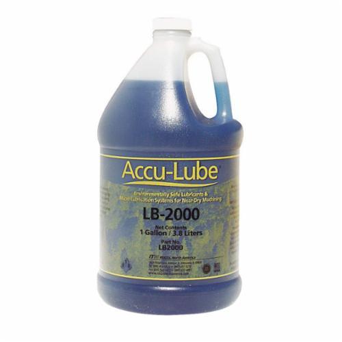 Accu-Lube® LB1000 General Purpose Heavy Duty Premium Lubricant, 1 gal Bottle, Mild, Liquid, Blue