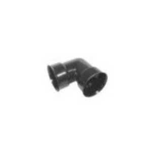 ADS® N-12® 0699ST Soil-Tight Dual Wall Elbow, 6 in, 90 deg, Cleated Bell Connection, HDPE
